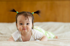 Baby-Bauch-Zeit Lizenzfreies Stockfoto