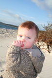baby beach Royalty Free Stock Images