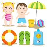 Baby Beach Royalty Free Stock Photography