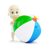 Baby beach ball Stock Image