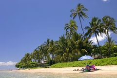 Baby beach in Lahaina Maui Stock Photography