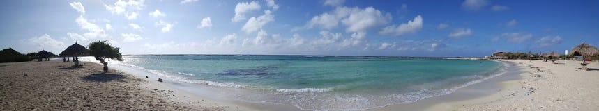 Baby beach Panorama Stock Photo