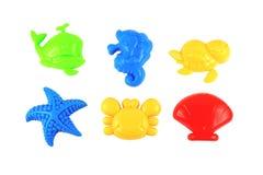 Baby beach sand toys Stock Photo