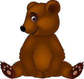 Baby bear cartoon Stock Photo