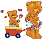 Baby bears Royalty Free Stock Images