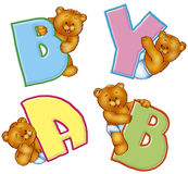 Baby bears Royalty Free Stock Image