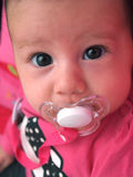 Baby with beautiful eyes Stock Photos