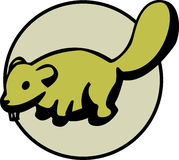 Baby beaver. Vector format available. Illustration of a baby beaver. Vector format available in EPS file Stock Photography