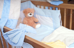 Baby bed Royalty Free Stock Image