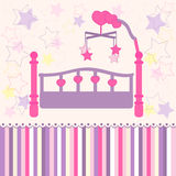 Baby bed Royalty Free Stock Images