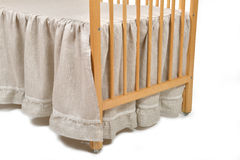 Baby bed detail Stock Photography