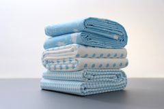 Baby Bed Sheets Stock Image
