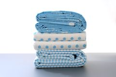 Baby Bed Sheets royalty free stock image