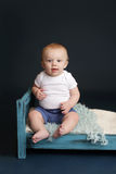 Baby Bed Time Stock Photos