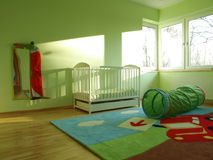 Baby bedroom Stock Image