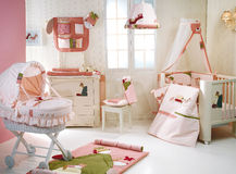 Baby bedroom. Royalty Free Stock Image