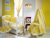 Baby bedroom. Royalty Free Stock Photos