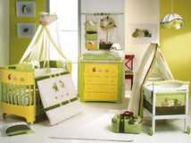 Baby bedroom. Stock Photos