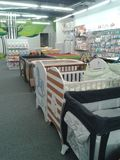 Baby beds Stock Photography