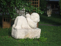 Baby-beeldhouwwerk Stock Foto's