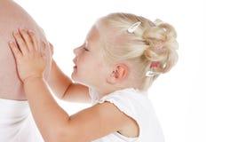 Baby-bespreking Royalty-vrije Stock Afbeelding