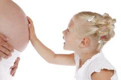Baby-bespreking royalty-vrije stock foto's