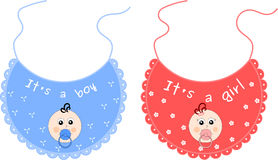 Baby bib Royalty Free Stock Image