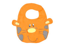 Baby bib isolated Royalty Free Stock Images