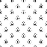 Baby bib pattern, simple style Stock Images