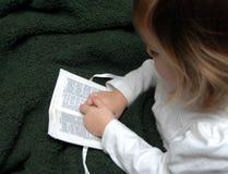 Baby Bible Royalty Free Stock Photos