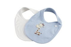 Baby bibs royalty free stock images