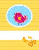 Baby bird royalty free illustration