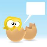 Baby Bird. Illustration of a baby bird Royalty Free Stock Photos