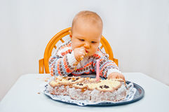 Baby birthday Royalty Free Stock Images