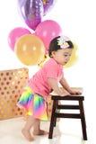Baby Birthday Girl Stock Photos