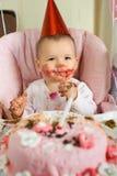 Baby  birthday Stock Photography