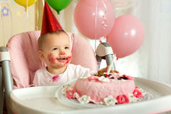 Baby  birthday Stock Image