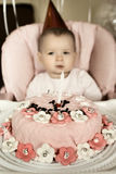 Baby  birthday Stock Images