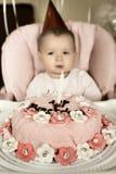 Baby  birthday Stock Images