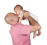 Baby bite Royalty Free Stock Images