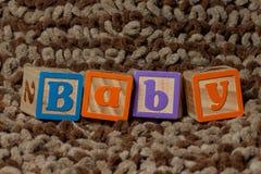 BABY-Blöcke Lizenzfreie Stockfotos