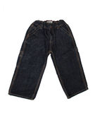 Baby black jeans Stock Photos