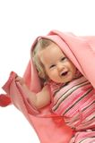 Baby blanket isolated Royalty Free Stock Photography