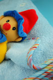 Baby Blanket and Toy Royalty Free Stock Photos