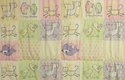 Baby blanket Royalty Free Stock Photography