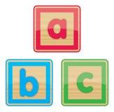 Baby Blocks. ABC Baby Blocks Stock Photos