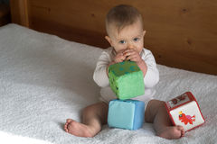 Baby Blocks Royalty Free Stock Image