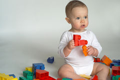 Baby Blocks Royalty Free Stock Image