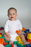 Baby Blocks Stock Photo