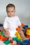 Baby Blocks Royalty Free Stock Photos